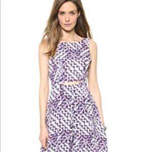 Rebecca Minkoff Francis Dress Purple Size 10